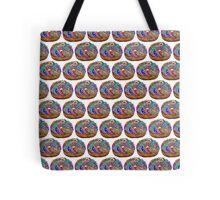 Human Donut Sprinkles 2 Pattern Tote Bag