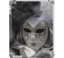 Beauty in a silver mask iPad Case/Skin
