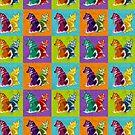 Technicolour Valluhnds by KatArtDesigns