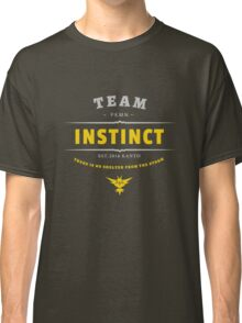 Team Instinct Pokemon Go Vintage Classic T-Shirt