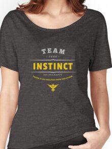 Team Instinct Pokemon Go Vintage Women's Relaxed Fit T-Shirt