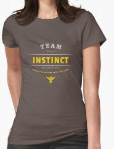 Team Instinct Pokemon Go Vintage Womens Fitted T-Shirt