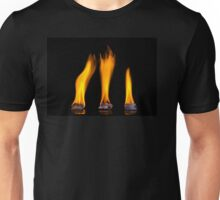 Burning ice Unisex T-Shirt