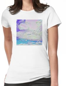 Cloudy Night Womens Fitted T-Shirt