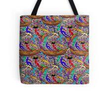 Human Donut Sprinkles Pattern Tote Bag