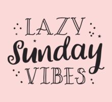 lazy sunday vibes One Piece - Short Sleeve