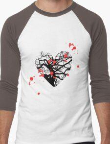 Love Is Men's Baseball ¾ T-Shirt