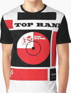 Top Rank Vintage Record Sleeve Graphic T-Shirt