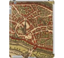 Duiisburg Vintage map.Geography Germany ,city view,building,political,Lithography,historical fashion,geo design,Cartography,Country,Science,history,urban iPad Case/Skin