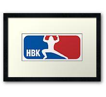 Shawn Michaels Wrestling NBA Framed Print