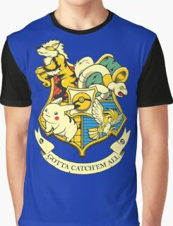 Pokewarts Graphic T-Shirt