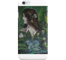 woman nymph iPhone Case/Skin