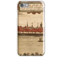 Emmerich Vintage map.Geography Germany ,city view,building,political,Lithography,historical fashion,geo design,Cartography,Country,Science,history,urban iPhone Case/Skin