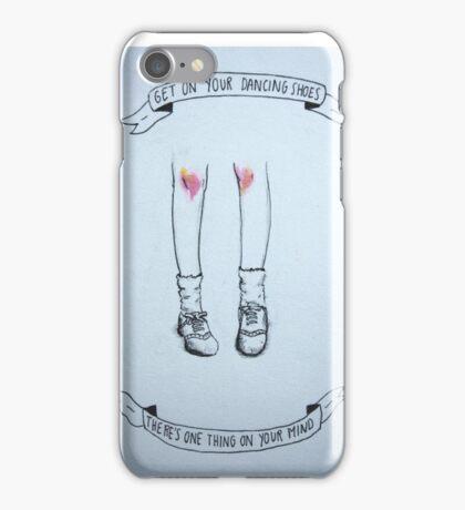 Arctic Monkeys Dancing Shoes Illustration iPhone Case/Skin