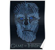 Blue Steel White Walker Poster