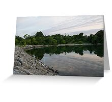 Summer Morning Tranquility - Lake Ontario in Toronto Greeting Card
