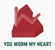 Worm Heart Baby Tee