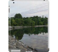 Summer Morning Tranquility - Lake Ontario in Toronto iPad Case/Skin