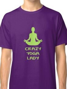 CRAZY YOGA LADY Classic T-Shirt