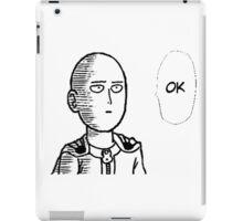Saitama Ok iPad Case/Skin