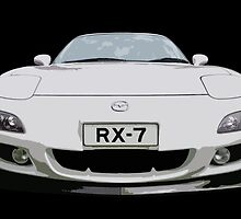 Mazda RX7 FD by Clintpix
