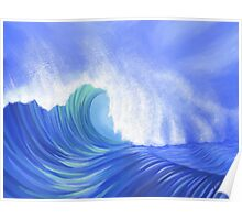 Mighty Wave Poster