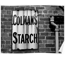 Colman's Sign Poster