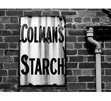 Colman's Sign Photographic Print
