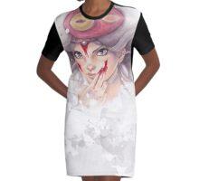 Wolf Priestess Graphic T-Shirt Dress