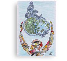 Puzzle - Natalia Ferreño  Canvas Print