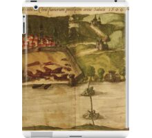 Goa Vintage map.Geography india ,city view,building,political,Lithography,historical fashion,geo design,Cartography,Country,Science,history,urban iPad Case/Skin