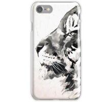 Cliff noir et blanc iPhone Case/Skin