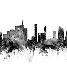 Milan Italy Skyline by Michael Tompsett