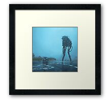 The Procession Framed Print