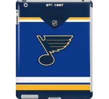 St. Louis Blues Home Jersey iPad Case/Skin