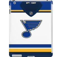 St. Louis Blues Away Jersey iPad Case/Skin