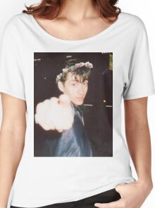 Alex Turner Flower Crown Women's Relaxed Fit T-Shirt