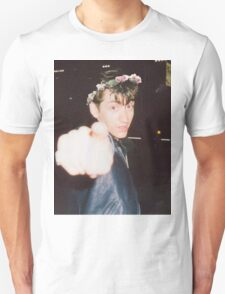 Alex Turner Flower Crown Unisex T-Shirt
