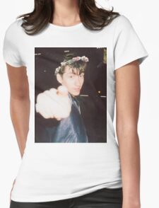 Alex Turner Flower Crown Womens Fitted T-Shirt