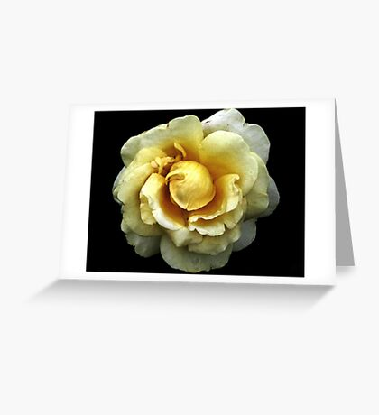 A Heart of Gold Greeting Card