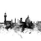 Florence Italy Skyline by Michael Tompsett