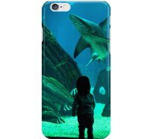 Underwater girl iPhone Case/Skin