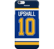 St. Louis Blues Scottie Upshall Jersey Back Phone Case iPhone Case/Skin