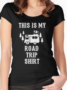 This Is My Road Trip Shirt Women's Fitted Scoop T-Shirt