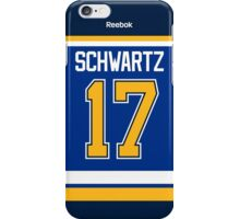 St. Louis Blues Jaden Schwartz Jersey Back Phone Case iPhone Case/Skin