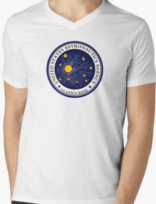 CLAVIUS MOON BASE - 2001 SPACE ODYSSEY Mens V-Neck T-Shirt