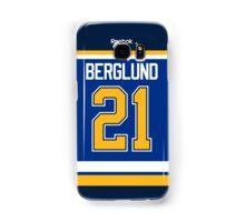 St. Louis Blues Patrik Berglund Jersey Back Phone Case Samsung Galaxy Case/Skin