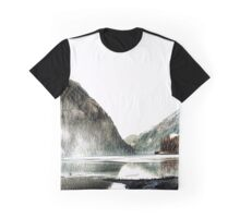 Artistic licence on Loch Long Graphic T-Shirt
