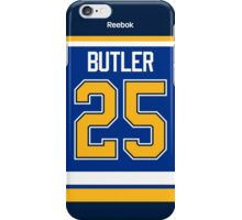 St. Louis Blues Chris Butler Jersey Back Phone Case iPhone Case/Skin