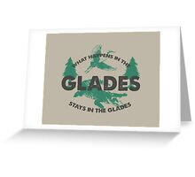 What Happens In The Glades Greeting Card